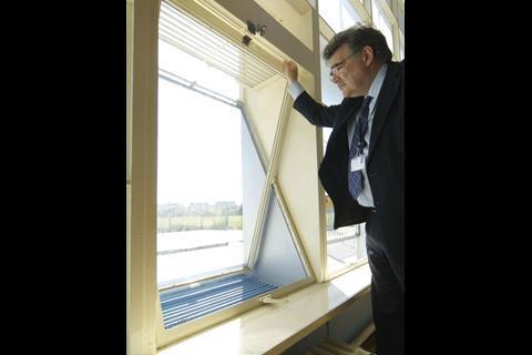 Pivot windows open and close secret vents